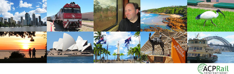 Andrew's Australian Rail Holiday