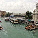 Venice's Santa Lucia station. Not a bad spot, either!