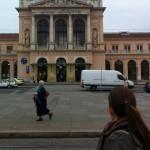Zagreb's central station