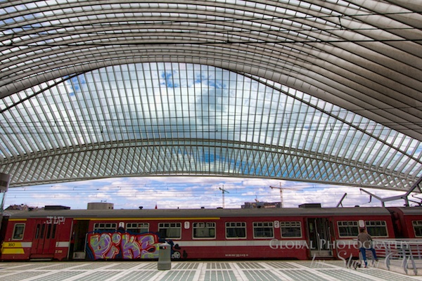 Sherry Ott - Liege Train Station