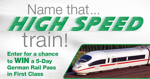 Name that High Speed train