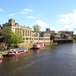 River Ouse in York England