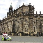 Dresden Cathedral makes a stunning impression in the Baroque Old Town.