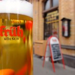 Kölsch, the Cologne beer, is served in smaller glasses - and packs in the flavour