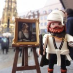 Nuremberg's most-famous son is the midieval painter Albrecht Dürer - now available in Playmobil!