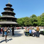 The Chinese Tower in the English Gardens is one of Munich's most-popular beer gardens
