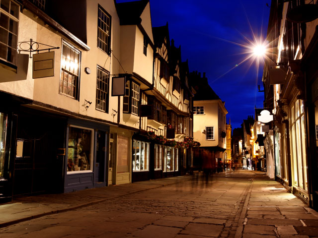 York-at-night