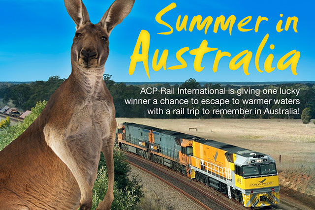 Summer in australia acp rail blog