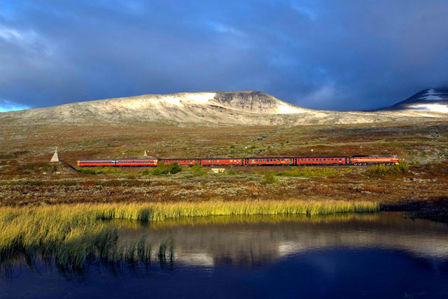 Nordland-Railway-train