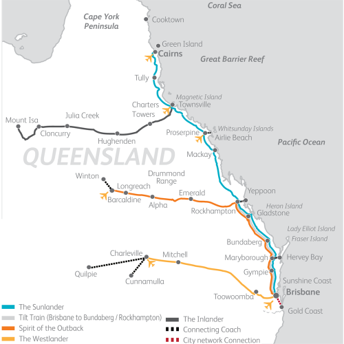 Queensland Explorer Pass