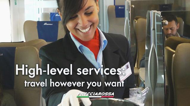 Trenitalia's Frecciarossa Train