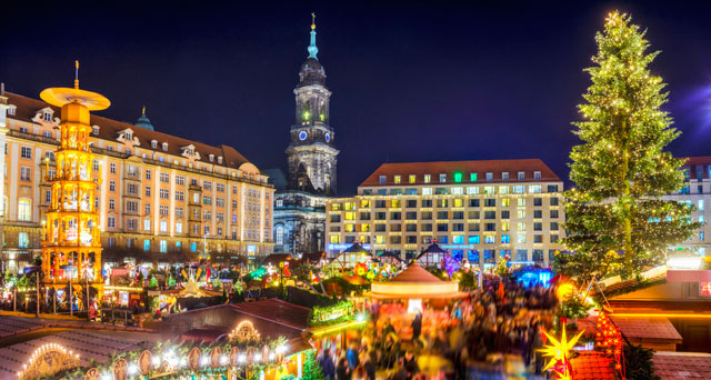Which Country Hosts Striezelmarkt A Christmas Market Thats Been Held Since 1434.The Best Christmas Markets In Europe Acp Rail
