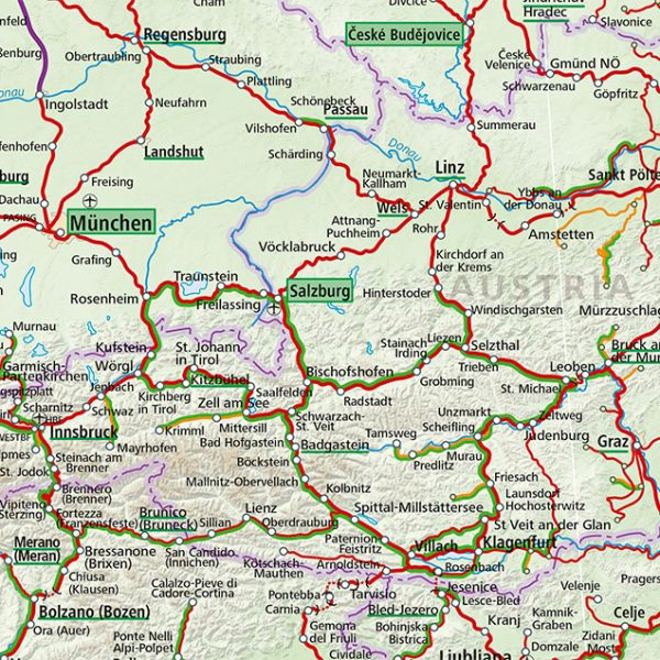 Map Of Zell Germany.Maps Acp Rail