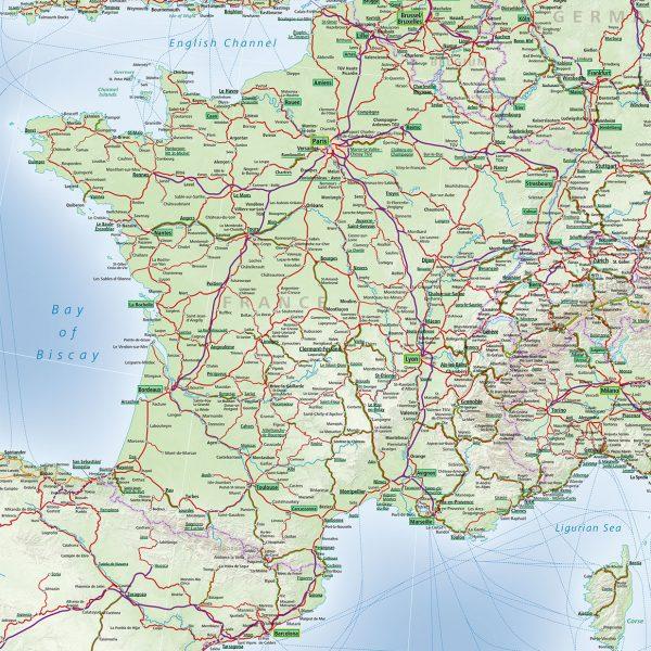 France Train Map