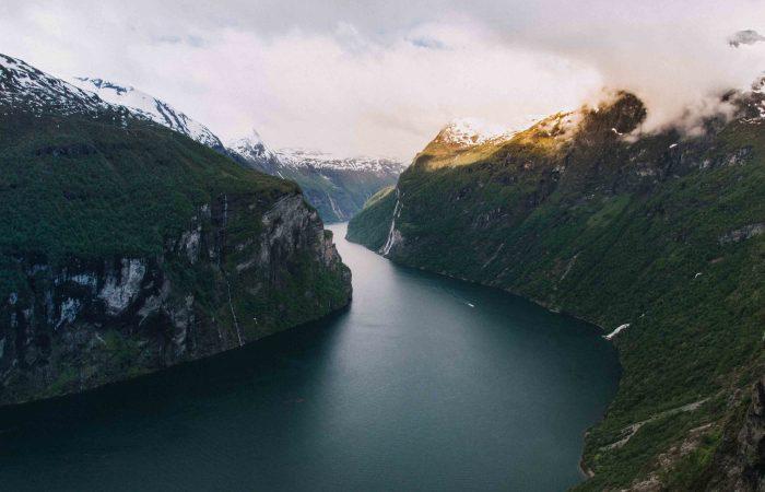 Norwegen auf den Punkt gebracht