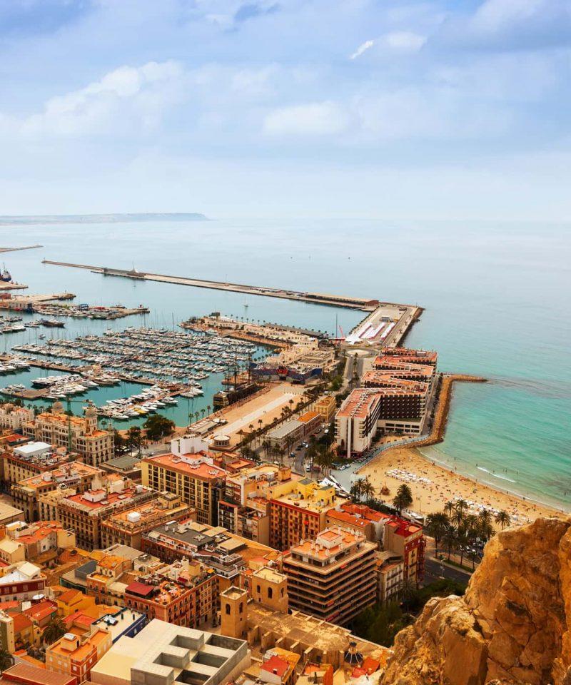 Barcelona to Alicante by train