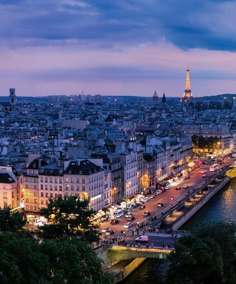 Bordeaux to Paris by train