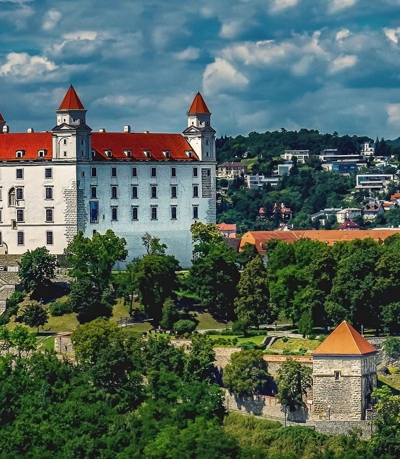 Budapest to Bratislava by train