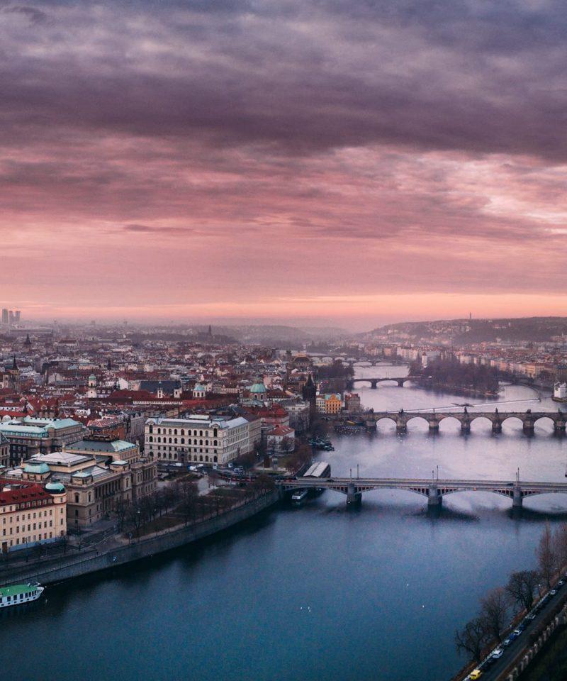 Vienna to Prague by train