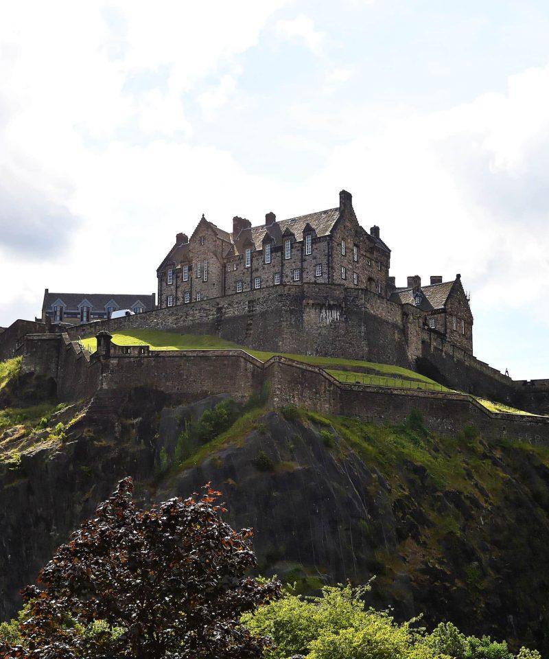Aberdeen to Edinburgh by train