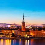 Copenhagen to Stockholm by train