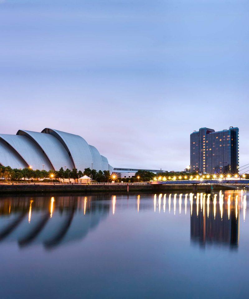 Edinburgh to Glasgow by train