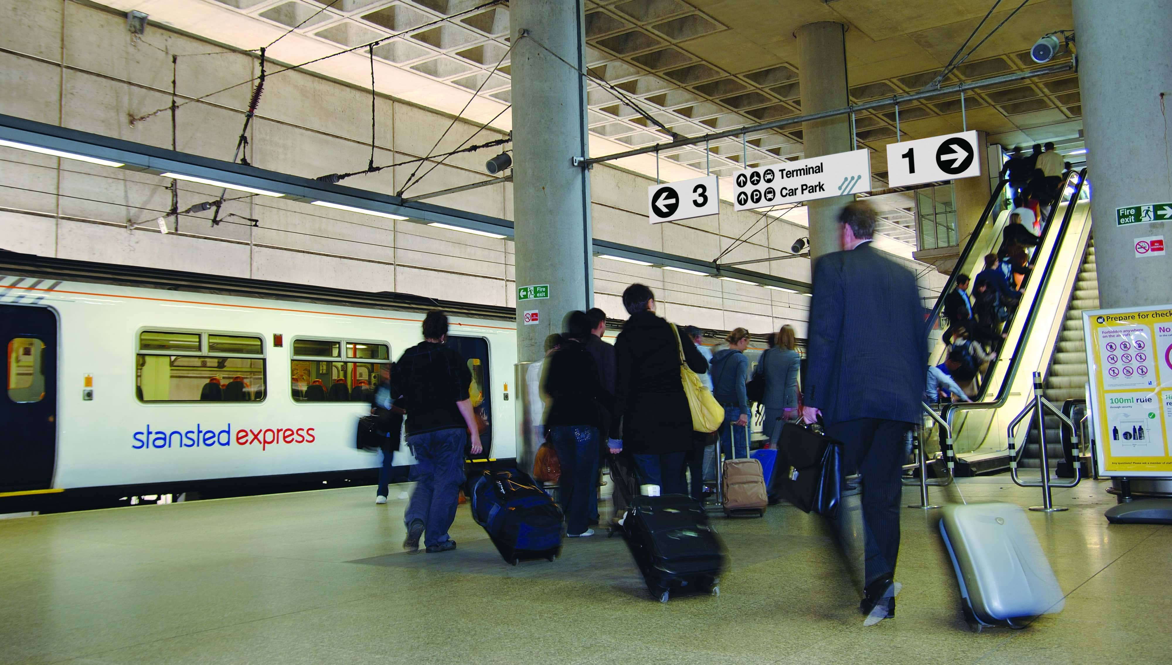London to Stansted Airport Train Tickets - ACP Rail