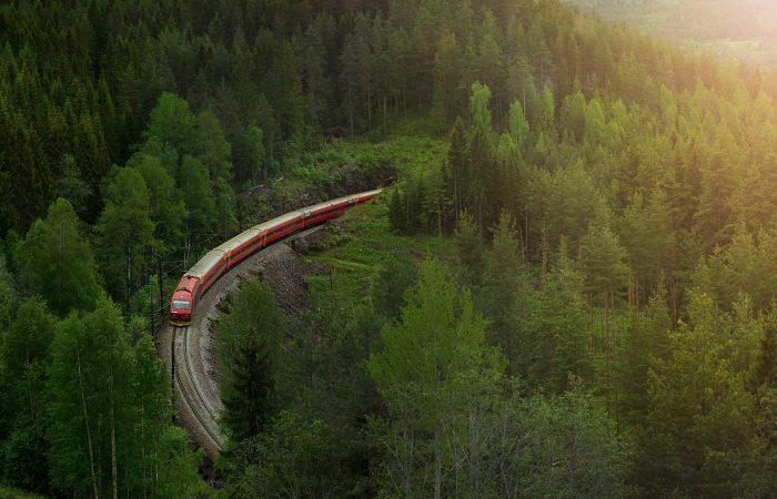 Oslo to Bergen by train