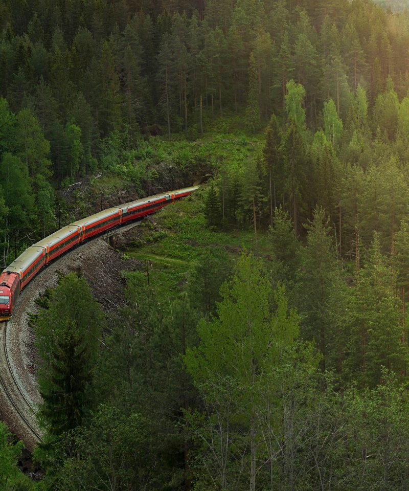 Oslo to Bergen by train