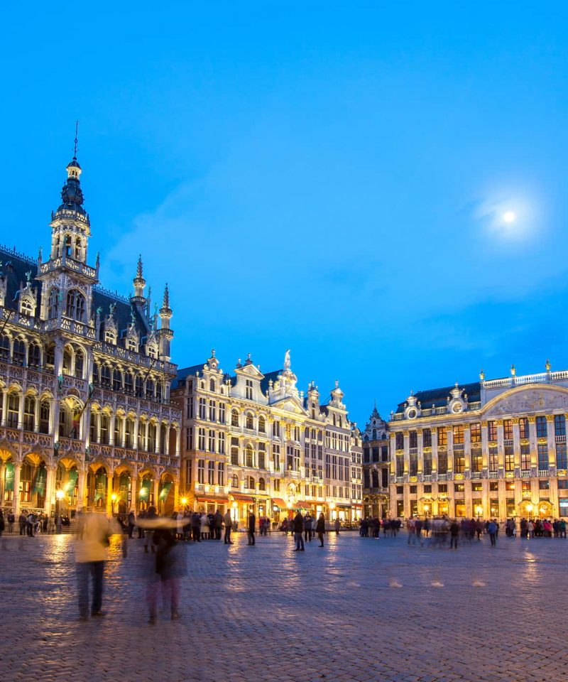Paris to Brussels by train