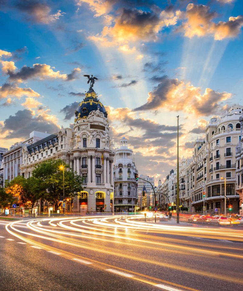 Santiago De Compostela to Madrid by train