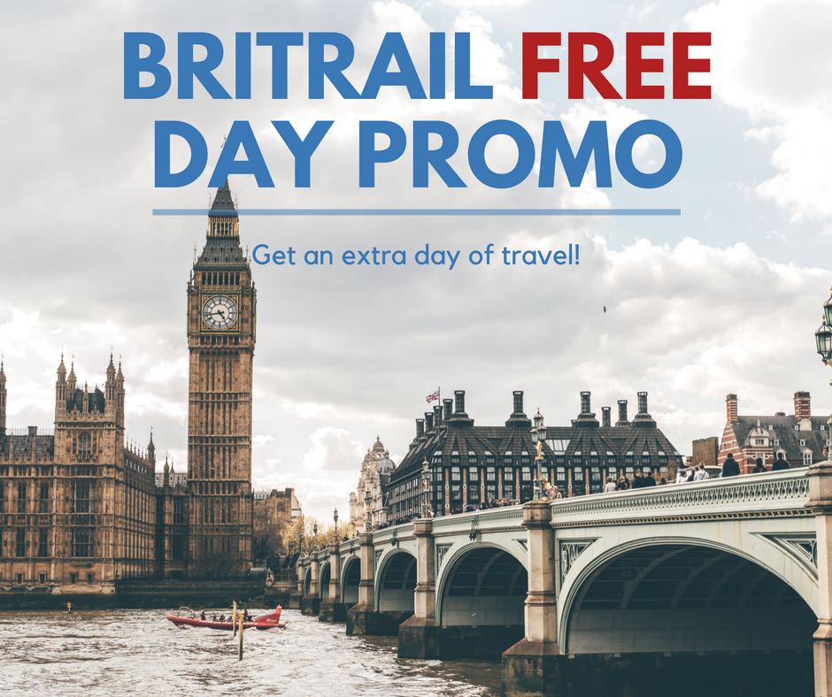 Britrail Free Day Promo