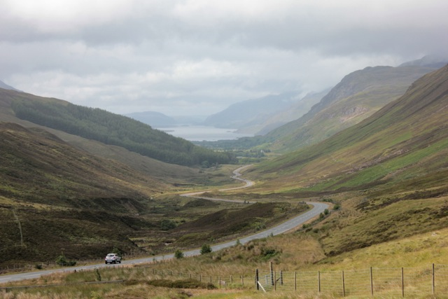 touring scotland by train